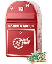 Martha Stewart Collection, Mailbox Cookie Jar, Express Mail, Red Christm... - $44.09