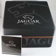 JAGUAR WATCH, SWISS MADE, SAPPHIRE CRYSTAL, 44 MM CASE, BEIGE, BROWN WITH DATE image 8