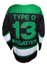 Custom Name # Type O Negative Hockey Jersey New Black Any Size image 4