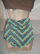 COCO REEF TANKINI & REVERSIBLE HIGH WAISTED/ROLL OVER BOTTOM,SIZE 32C/SMALL image 7