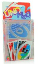 UNO Card Game H2O Waterproof Splash Clear PVC No 1 Family Fun Playing Ca... - $18.56