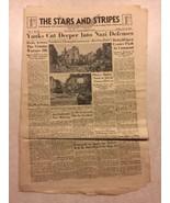 Stars and Stripes July 31 1944 Yanks Cut Deeper Into Nazi Defenses, Tank... - $18.70
