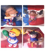 Mattel Set of 4 Cabbage Patch Kids Olympikids 1996 Olympic Team Mascot 3... - $9.89