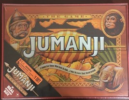 NEW JUMANJI BOARD GAME WOOD CARDINAL EDITION IN REAL WOODEN BOX FREE SHI... - $39.55