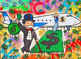 "Alec Monopoly Amazing HD print on Canvas Urban art 2PAC Portrait 28x28/"""