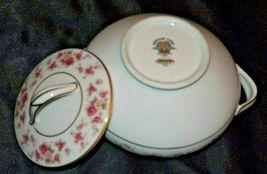 Noritake China (1 sugar with lid) Charmaine 5506 AA20-2360J Vintage image 6