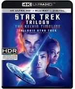 Star Trek Trilogy : The Kelvin Timeline 4K ULTRA HD +BLU-RAY +DIGITAL CA... - $39.55