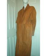 Forma England Leather Coat Goatskin Men Size Small Women Size Medium/La... - $275.00