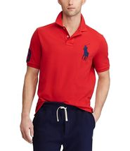 Polo Ralph Lauren Men's Short Sleeve Big Pony Logo Polo Shirt image 8