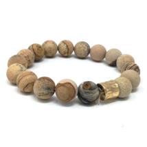 Jasper Beaded Stretch Bracelet For Women Statement Bohemian Boho Jewelry - $14.35