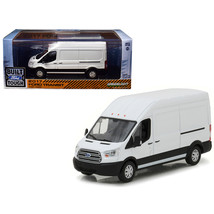 2017 Ford Transit LWB High Roof Oxford White 1/43 Diecast Model Car by Greenligh - $26.64