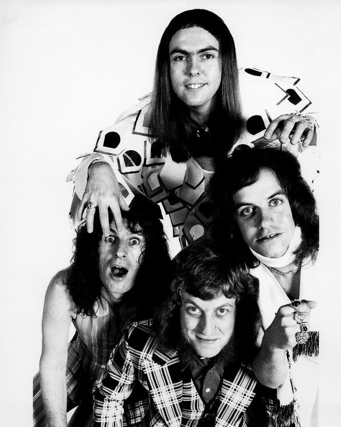 Primary image for Slade Noddy, Dave, Jim & Don Iconic 1970's Pose 16x20 Canvas