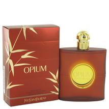 Yves Saint Laurent Opium Perfume 3.0 Oz Eau De Toilette Spray image 1