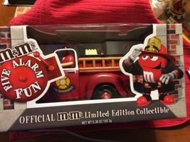 Five Alarm Fun Fire Truck M&M's Limited Edition Dispenser - $13.37