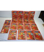 Vintage 1981 Mego Eagle Force Full 18 figure Set MOC Diecast Metal Rare ... - $962.49