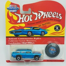 Hot wheels vintage classic nomad with pairing button - $7.97