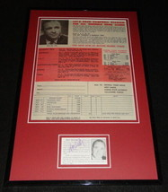 Coach Don Veller Signed Framed 11x17 Photo Display JSA Florida State - $58.54