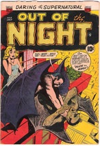 Out of the Night Comic Book #9, ACG 1953 VERY GOOD+ - $78.29