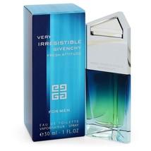 Very Irresistible Fresh Attitude By Givenchy Eau De Toilette Spray 1 Oz For Men - $52.33