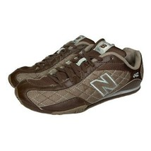 New Balance Womens 442 Athletic Sneakers Brown CW442CF Low Top Lace Up Shoes 8 B - $29.69