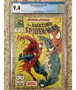 The Amazing Spider-Man #378 CGC 9.4 (2092696002) 6/93 Maximum Carnage pt 3 of 14 - $94.00