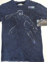 The Black Panther Fight Stance Marvel Comics Hand Treated T-Shirt - $21.75