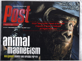 Planet of the Apes, Shrek, Dinosaurs 2001 Post Production Movie Making M... - $32.00
