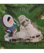 Hallmark 2000 Frosty Friends #21 Seal Sculpting Ornament - $11.95