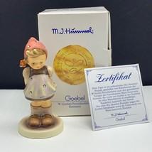 Goebel MJ Hummel club figurine germany box coa 1065 pretty please hum 48... - $54.45