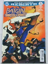 BATGIRL AND THE BIRDS OF PREY #3 (DC 2016) VARIANT COVER B BLACK CANARY - $1.99
