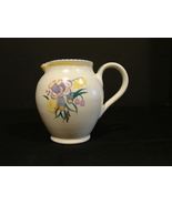 Collectible Poole Pottery  England Ceramic 4 Inch Pitcher Artist Signed;... - $20.00