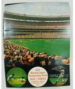 1972 National League Champsionship Reds v Pirates Baseball Program - $15.39