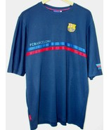 Men's FCB Barcelona Soccer Dri Fit Short Sleeve Blue XXL 2XL EUC Footbal... - $15.88