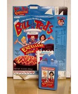 1991 Bill & Ted's Ex Adventure- Cereal Box w/Phone Booth premium- NM/Mint - $69.29