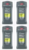 4 Dove Men + Care Antiperspirant Protection ACTIVE FRESH Deodorant 2.7 S... - $24.71