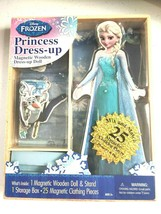 Bendon 06700 Disney Frozen Elsa 25-Piece Wooden Magnetic Doll Dress-Up K... - $9.50
