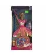 1998 Bubble Fairy Barbie Doll Blonde Spins Bubble Wishes Mattel - $13.96