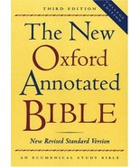 The New Oxford Annotated Bible, New Revised Standard Version, Third Edit... - $39.99