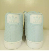 Adidas Pro Model Woven Shoes BY4169 Icey Blue/Running White- Size 11  Shell toe image 5