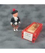 Vintage Character Scot Doll with Sleeping Eyes Made in Great Britain, Boxed - $12.19