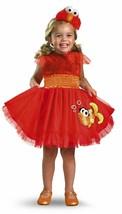 SESAME STREET'S FRILLY ELMO RED ORANGE YELLOW CHILD HALLOWEEN COSTUME SZ... - $32.30