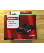 Craftsman 60 Volt Max 2 Ah Lithium Ion Battery for Outdoor Equipment - $138.59