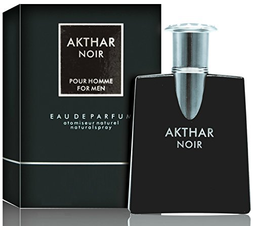 Primary image for Akthar Noir Eau De Toilette Spray For Men, 2.5 Ounce 75 Ml - Scent Similar to Dr