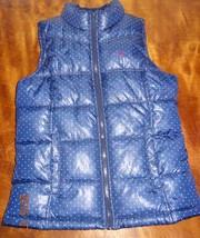 "Old Navy Vest Fall Polka dots Sleeveless size XL Chest 16.5""  Junior - $15.99"