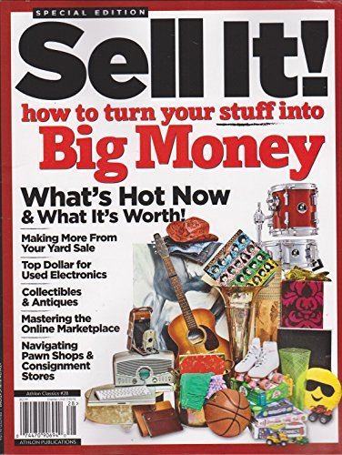 Primary image for Athlon Classics Sell It! Magazine How to turn stuff into Big Money [Single Issue
