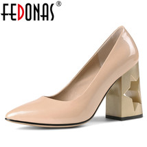 Pointed outs Fashion Basic Sexy Cut High Women FEDONAS S Heeled Toe Pumps Pumps w8qBtBd
