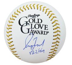 Greg Maddux Signed Rawlings Gold Glove Award Logo MLB Baseball w/18x GG ... - $499.00