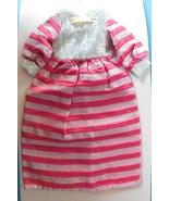 Vintage Premier LONG GOWN Silver Myler & Hot Pink fits Ideal Crissy & ot... - $48.51
