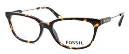 Fossil FOS 6077 RWY Women's Eyeglasses Frames 52-16-135 Havana + CASE - $64.15