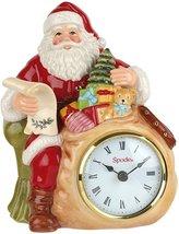 Spode Christmas Tree (8in) Santa Clock - $100.00